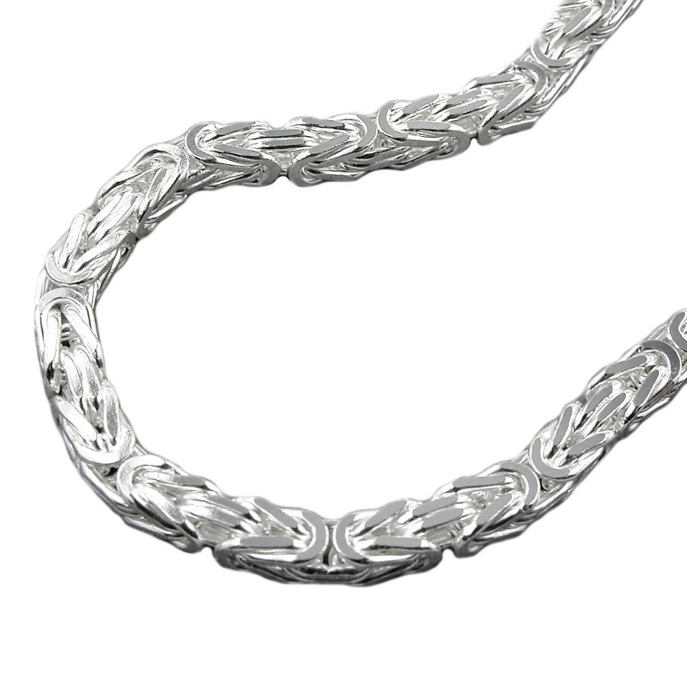 Kette, 5mm Königskette 55cm, Silber 925