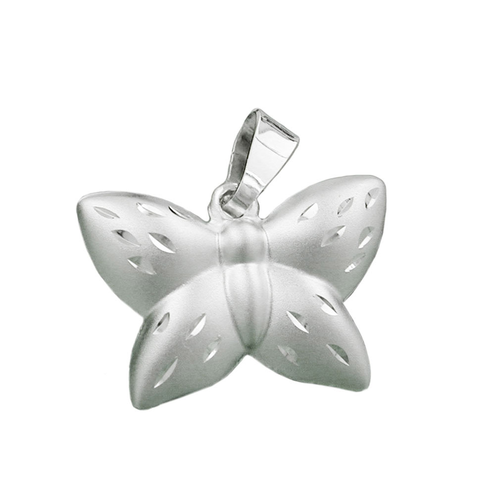 Anhänger, Schmetterling, Silber 925