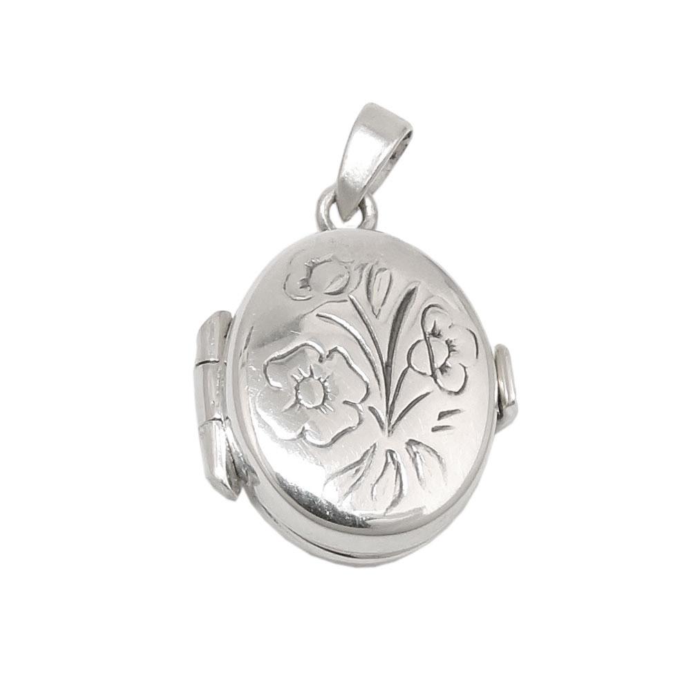 Anhänger Medaillon, klein Silber 925