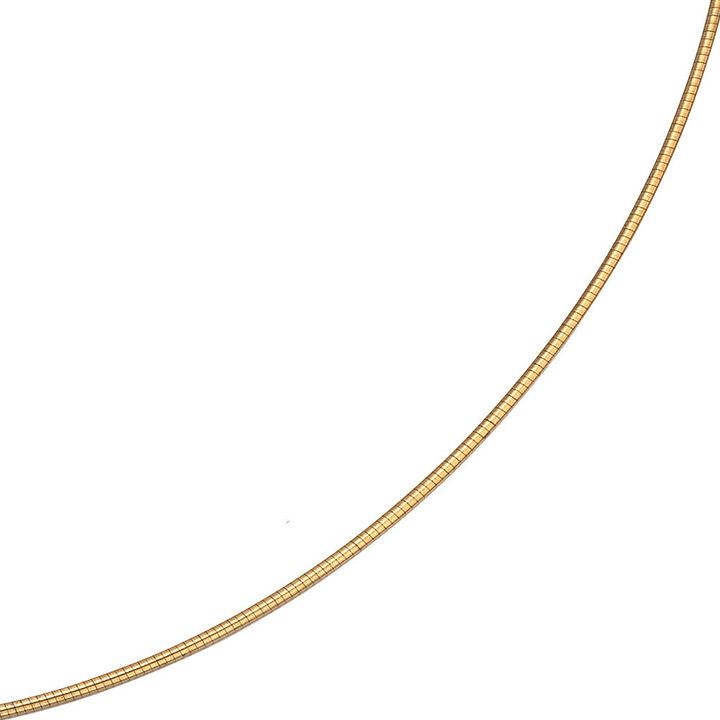 Halsreif 333 Gelbgold 1,5 mm 42 cm Gold Kette Halskette Goldhalsreif Karabiner
