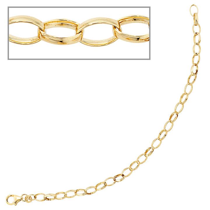 Armband 333 Gold Gelbgold 19 cm Goldarmband Karabiner