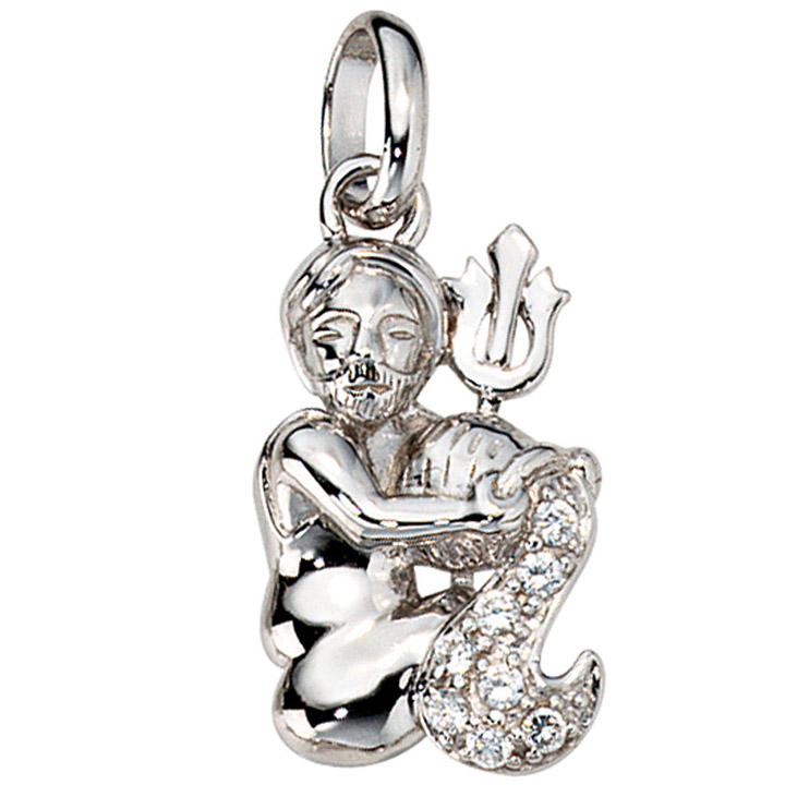 SIGO - Anhänger Sternzeichen Wassermann 925 Silber mit