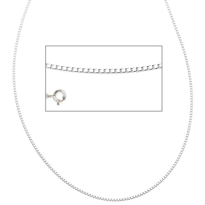 Venezianerkette 925 Sterling Silber 1,2 mm 38 cm Halskette Kette Silberkette
