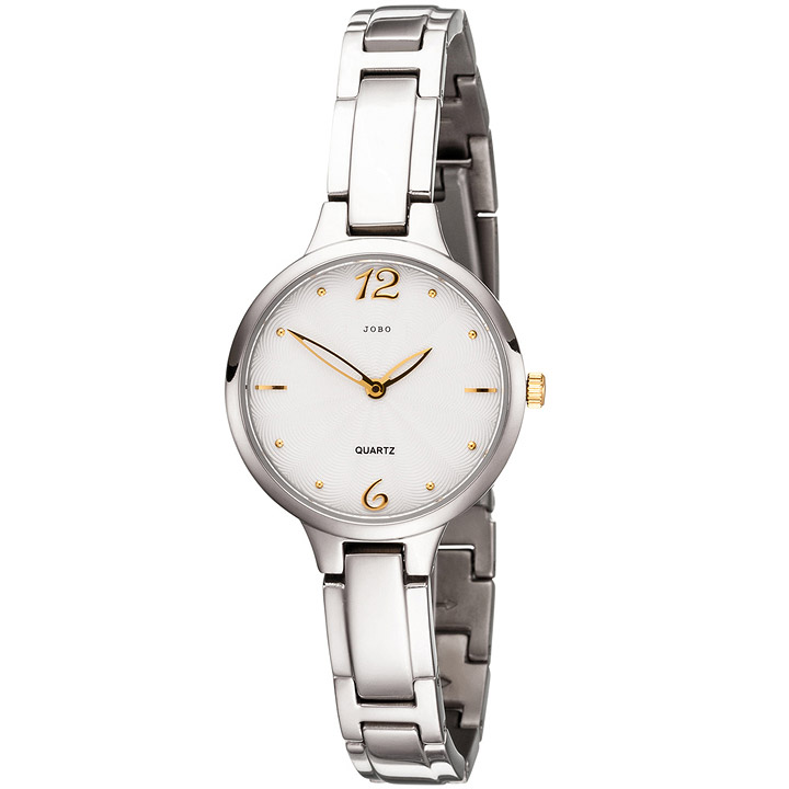 Damen Armbanduhr schmal Quarz Analog Titan Damenuhr mit schmalem Armband