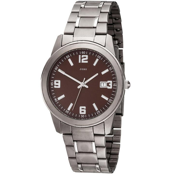 Herren Armbanduhr Quarz Analog Titan Herrenuhr mit Datum