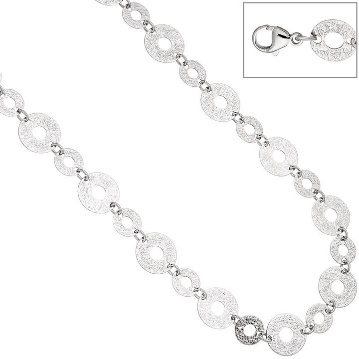 Collier Halskette 925 Sterling Silber 60 cm Kette Silberkette