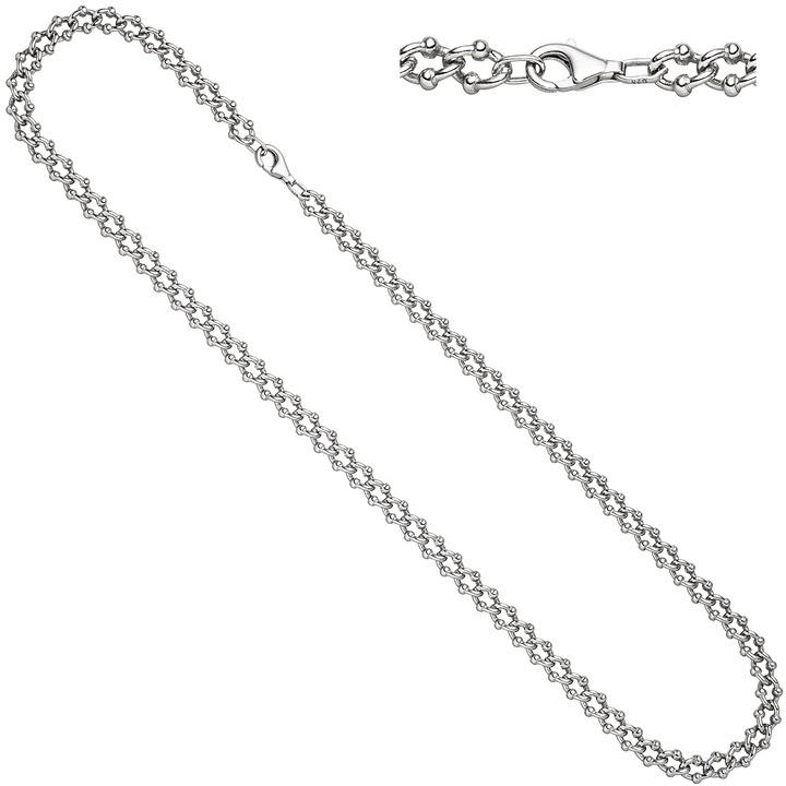 Halskette Kette 925 Sterling Silber 55 cm Silberkette Karabiner