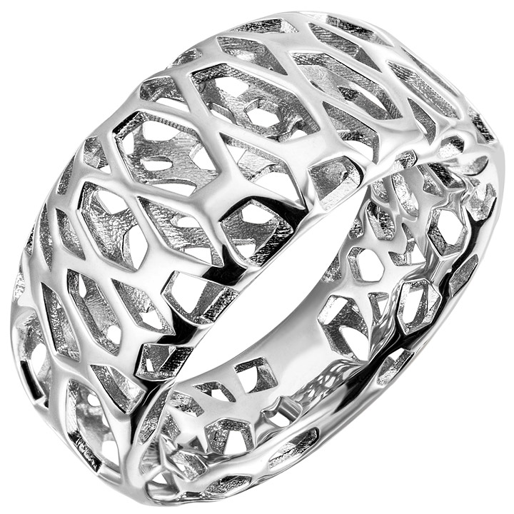 Damen Ring 925 Sterling Silber Silberring