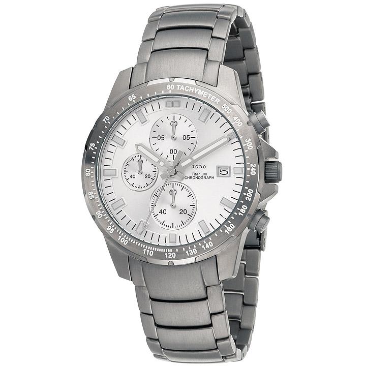 Herren Armbanduhr Quarz Chronograph Titan mit Datum