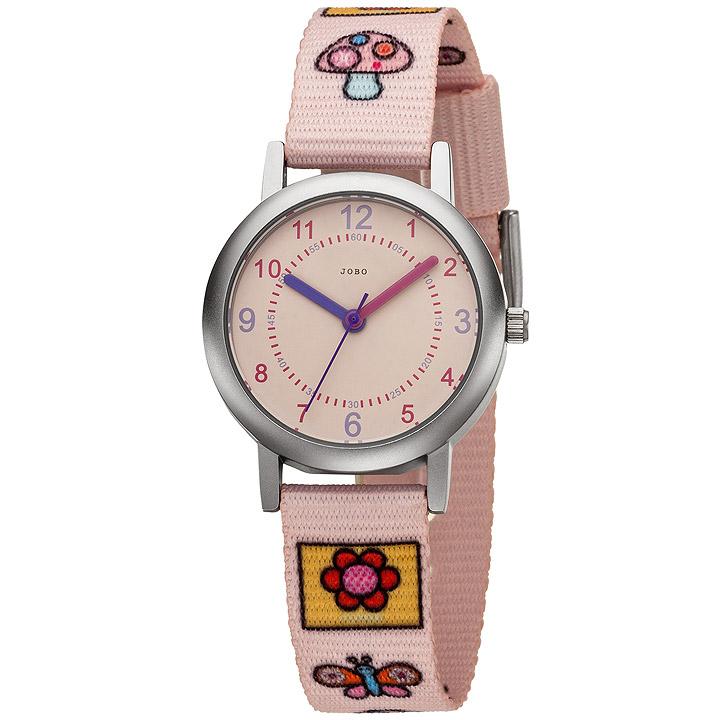 Kinder Armbanduhr Quarz Analog Kinderuhr rosa