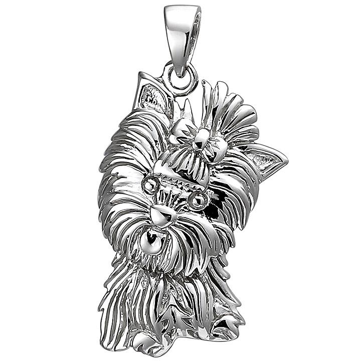Anhänger Westhighland Terrier 925 Sterling Silber Silberanhänger