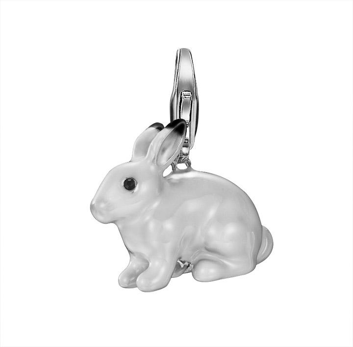 Charm 925 Silber Polar rabbit