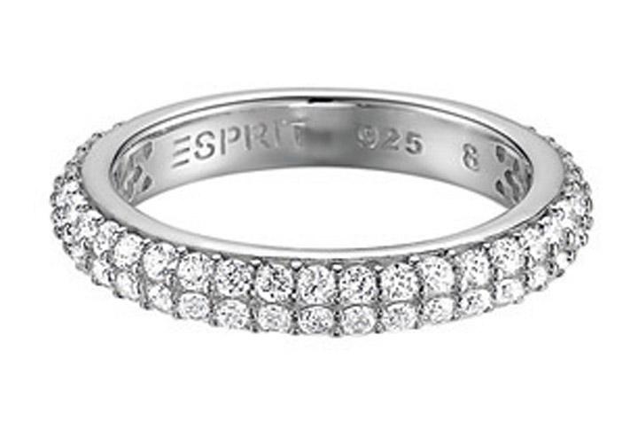Ring 925 Silber elegance zirkonia, 53 - 16,9