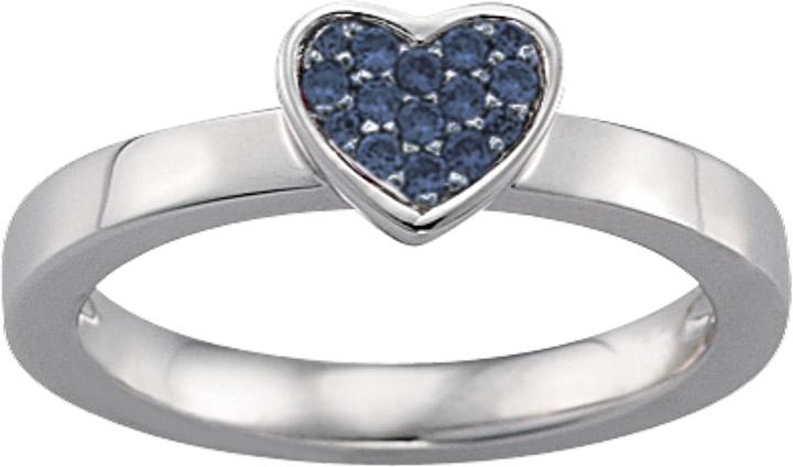 Ring 925 Silber Zirkonia, 55 / 17,5