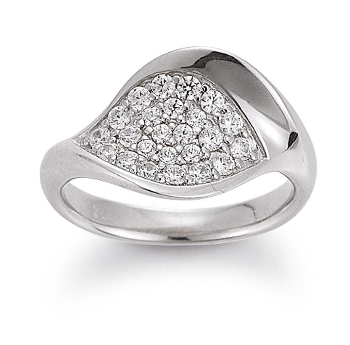 Ring 925 Silber Zirkonia, 50 / 15,9