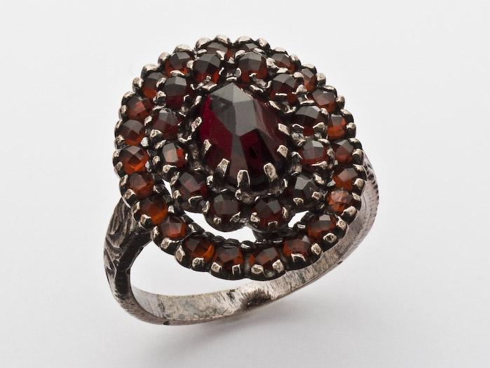 Ring Granat 925