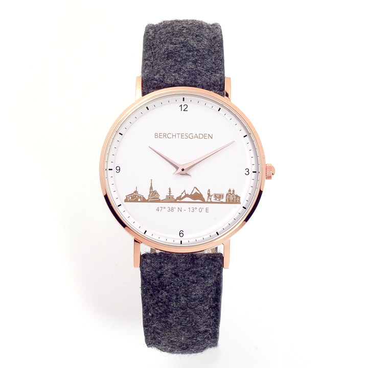 Armbanduhr Berchtesgaden Damen Filzband