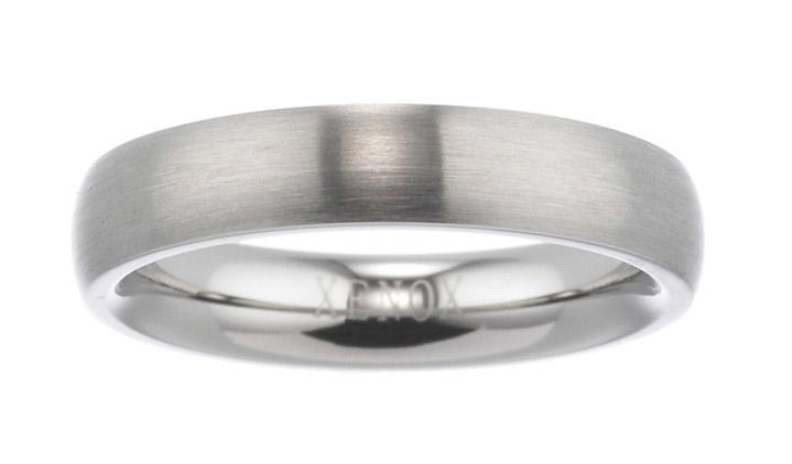 Ring Edelstahl 4,00 mm matt, 50 / 15,9