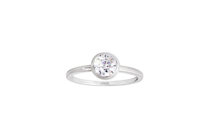 Ring 925 Silber Zirkonia, 56 / 17,8