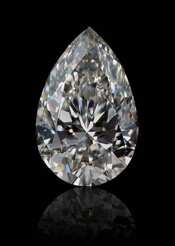 Ein fancy-grauer Diamant / fancy gray diamond