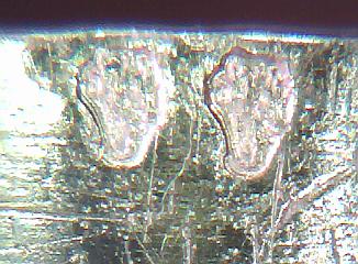 Gold-Punzen