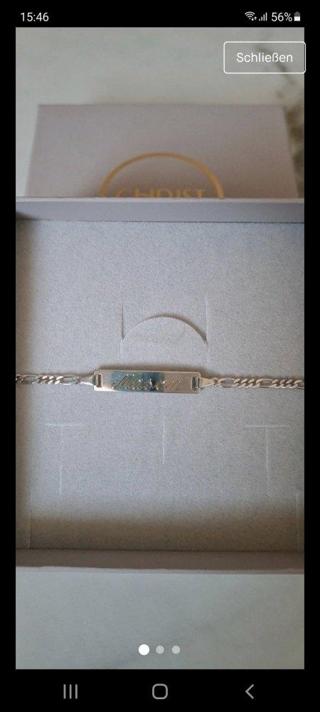 Gravur vom Taufbändchen entfernen lassen
