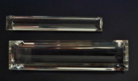 Bergkristall Rechteck 40x6mm (6,9ct) und 40x10mm (21,4ct).JPG