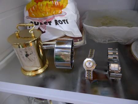 Uhren im Sommer