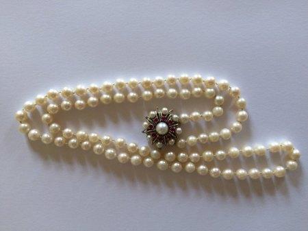 Perlenkette Erbe