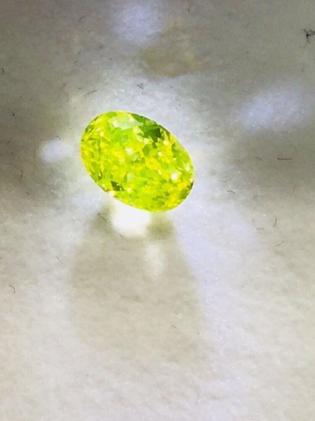 """Gelber Diamant - mit """"Wahnsinns-Farbe"""""""