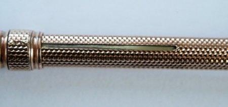 Ist der Bleistift vergoldet oder aus Gold Double?