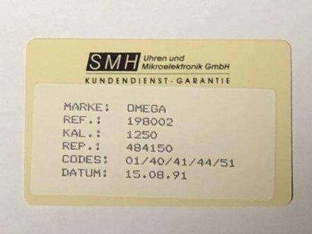 Omega - Wert?
