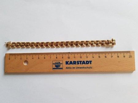 Goldarmband 750