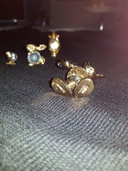 Drei Objekte von Swarovski