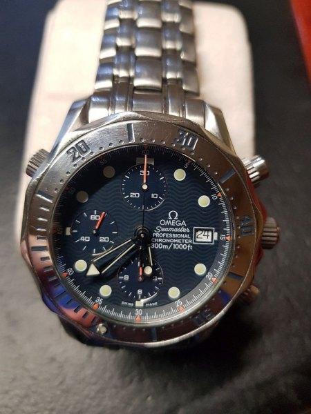 Wertschätzung + Info Omega Seamaster Uhren