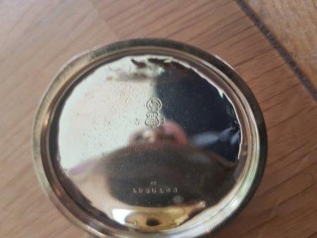 Alpina taschenuhr aus gold