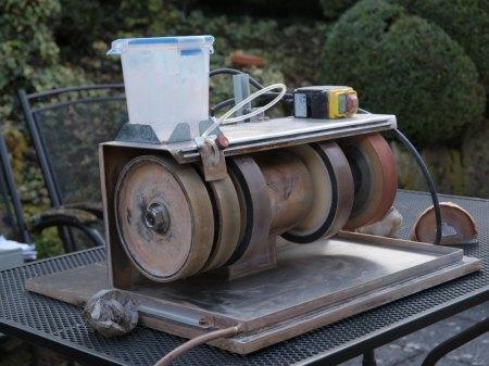 Gebrauchte Edelsteinschleifmaschine (HB) zu verkaufen