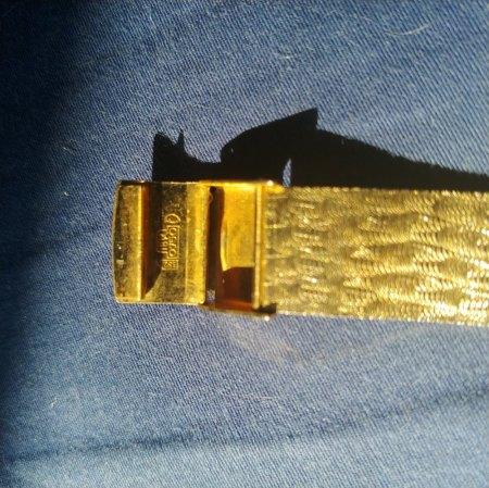 Omega Damengolduhr Seamaster Antimagnetic 18 K 750