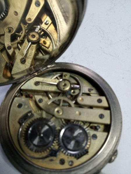 2 alte Taschenuhren aus Nachlass