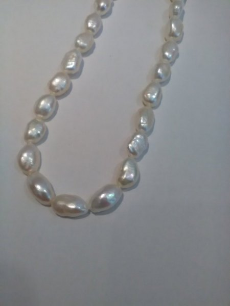 Bitte um Bestimmung der Perlenart
