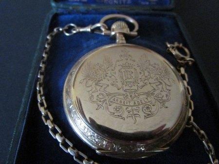 Taschenuhr von 1908