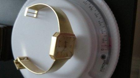 Priosa Herrenuhr 585 14k Schweizer Uhrwerk