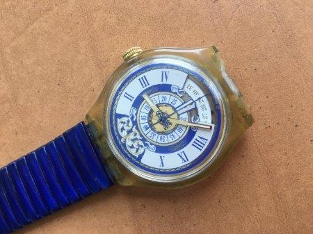 Swatch Uhrengehäuse austauschen