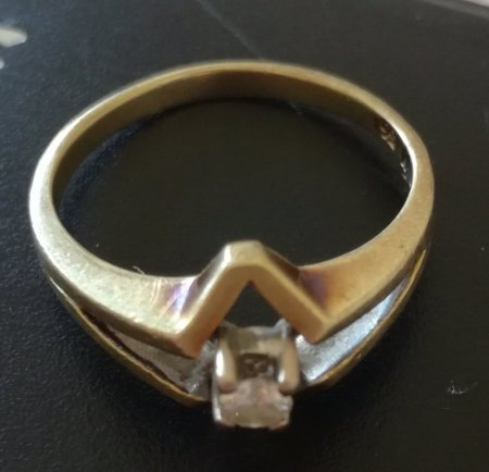 Welchen Wert hat dieser Gold Diamantring?