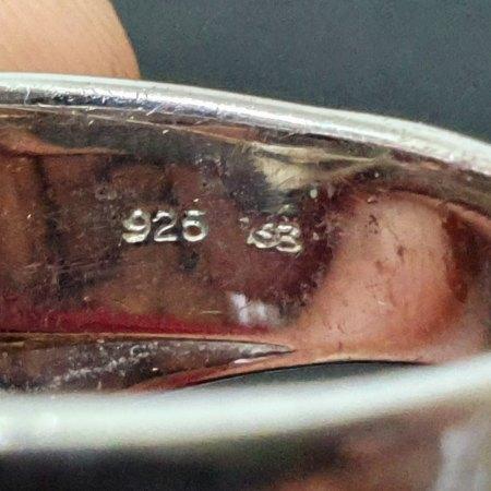Punze bestimmen eines 925 Silber Rings
