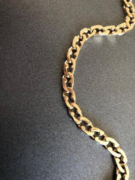 Goldkette 585 Gold - echt ?