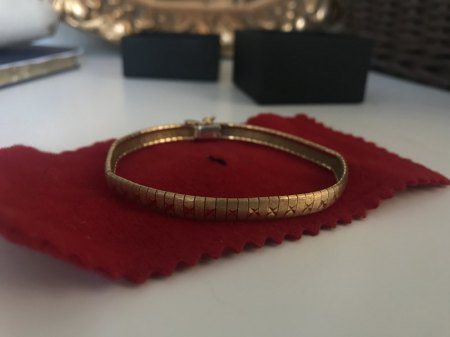 Wertschätzung 750er Goldarmband