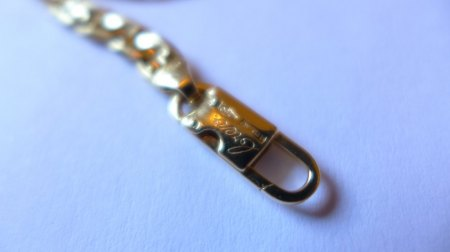 Stegpanzerkette Gold 18 Karat Fratelli Chini
