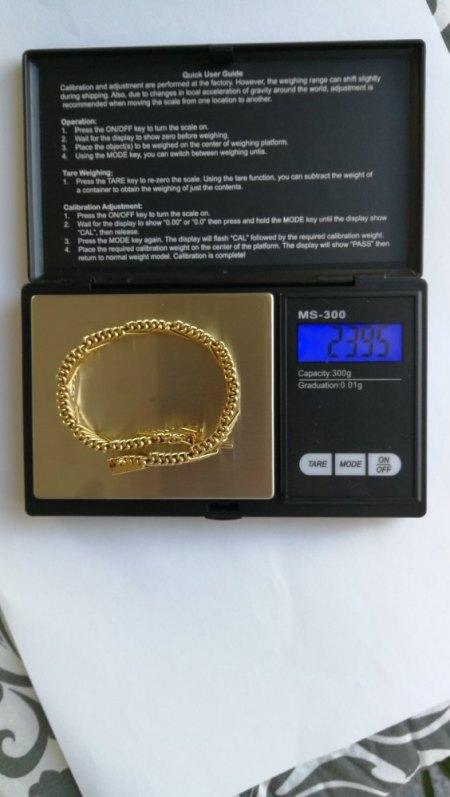 Ich biete ein 750er Armband
