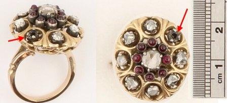 Rosenschliff/Polki Diamant für Reparatur gesucht